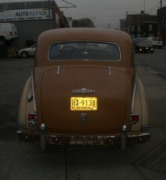 Classic Hudson car
