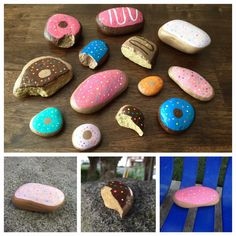 Projects For Kids, Craft Projects, Craft Ideas, Stone Painting, Rock Painting, Rock Crafts, Arts And Crafts, Nanny Activities, Kids Corner