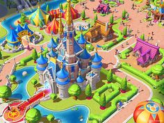 Image result for theme park game