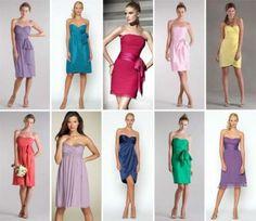 vestidos longuetes para madrinhas diversos modelos