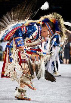 Native American dancing - traditional dance