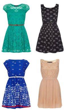 Belted dresses are all the rage. Mix and match with all colors and patterns!
