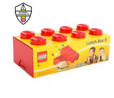 Lego Accessories Red Storage Lunchbox | AlexandAlexa Pin To Win Competition #AALovesSchool