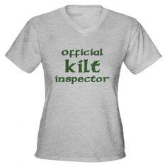 Official Kilt Inspector! #Outlander