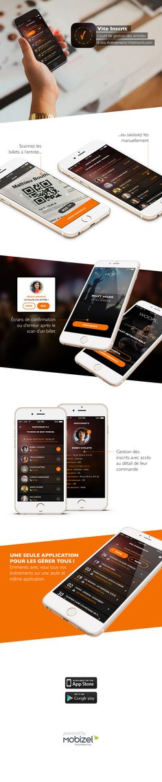 infographie-viteinscrit Application Mobile, Mobile Ui, Android, Infographic