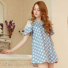 Buy 'Tokyo Fashion – Cutout-Sleeve Polka-Dot Tunic' with Free International Shipping at YesStyle.com. Browse and shop for thousands of Asian fashion items from Taiwan and more!