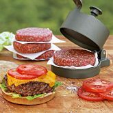 burger press - tyson would be in heaven!