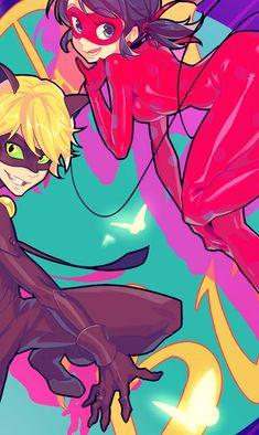 ♡ Miraculous Ladybug ♡ Chat Noir x Ladybug www.miraculousladyblog.net