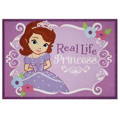 Sofia the First Real Princess Area Rug   BabiesRUs
