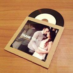 disco lembrança do casamento