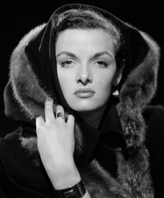 Jane Russell in MINK Fur