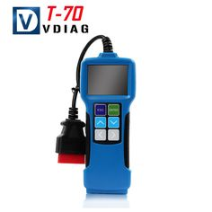 69.90$  Buy now - http://aliwa3.worldwells.pw/go.php?t=32784174321 - Free Shipping T70 Universal Fault Code Scanner OBDII EOBD+JOBD Software Upgradeable Vehicle Code Reader Auto Scan Tool T70  69.90$