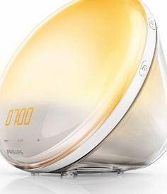 Philips Wake-Up Light Alarm Clock Coloured Sunrise Simulation - 5 Sounds and Radio Function No description (Barcode EAN = 0698798695395). http://www.comparestoreprices.co.uk/december-2016-week-1/philips-wake-up-light-alarm-clock-coloured-sunrise-simulation--5-sounds-and-radio-function.asp