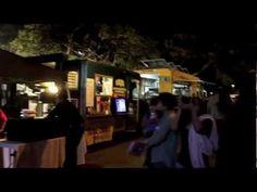 新年おめでとうございます。Happy New Year!  今年は興味があったカカアコの「パーティー・オブ・ザ・イヤー」に行ってきました。We spent the New Year's Eve at Party of The Year in Kakaako. There was a Ferris Wheel, Holiday lightings and food trucks.