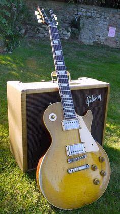 "Bernie Marsdens 1959' Gibson Les Paul Standard The ""Beast"""