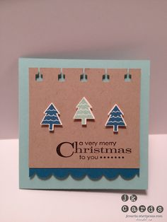 Stampin' Up!, Island Pool Merry Tags, Merry Minis, More Merry Messages, Teeny Tiny Wishes, Bitty Banners Framelits, Simply Scored Diagonal Tool, Scallop Border Punch, Spiral Border Punch (Retired), Merry Minis Punch Pack
