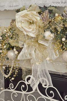 Jennelise ~ Pretty mantle decor~❥