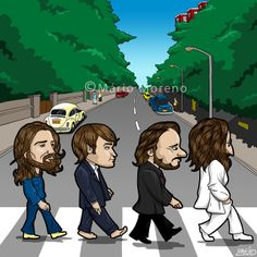 the beatles abbey road cartoons | Recent Photos The Commons Getty Collection Galleries World Map App ...