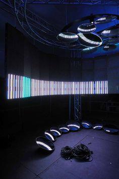 Interactive Audio, set, AV installation