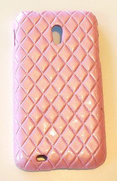 Sprint Samsung Galaxy S II 2 Epic 4G Touch D710 Designer Pink Leather Case Cover