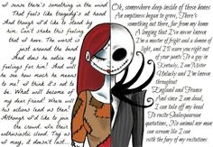 Nothing I love so much Sally and Jack that. nothing Tim Burton is a genius, an artist! And I love him and I love his movies . Sally and Jack (Nightmare before Christmas) Jack Nightmare Before Christmas, Jack E Sally, Jack And Sally Quotes, Mister Jack, Arte Tim Burton, Sr Pelo, Jack The Pumpkin King, Desenho Tattoo, Corpse Bride