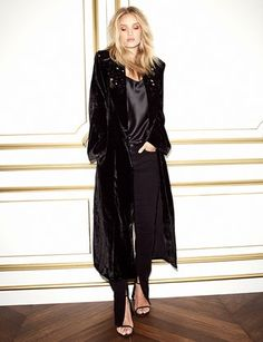 Rosie HW x PAIGE Collection Constance Skinny - Vintage Noir