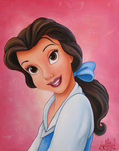 "*""BELLE"" ~ Beauty and the Beast, James C. Mulligan - Original Acrylic on Canvas Belle Disney, Walt Disney, Disney Girls, Disney Love, Disney Magic, Disney Fine Art, Belle Beauty And The Beast, Disney World Parks, Art Corner"