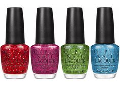 Muppets inspired OPI nail polish. Sparkly!