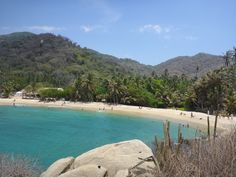 Our experience exploring the #Tayrona #nationalpark on Colombia's #Caribbean #coast #colombia #southamerica #beach #ocean #amazing #beautiful