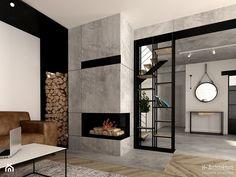 Krajewski, Fireplace, H+ architecturearchitecture Home Fireplace, Fireplace Remodel, Modern Fireplace, Living Room With Fireplace, Fireplace Design, Home Room Design, Home Interior Design, House Design, My New Room