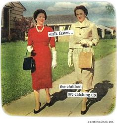 ann tainter kitchen scenes | ANNE-TAINTOR-VINTAGE-WALK-FASTER-MINI-MELAMINE-APPETIZER-TRAY-COCKTAIL ...
