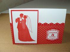 Kreativreport: Zweite Hochzeitskarte