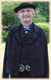 Nieuw- en St.Joosland  Man in zondagse dracht