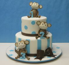 Monkeying Around by LovelyCakes.net, via Flickr