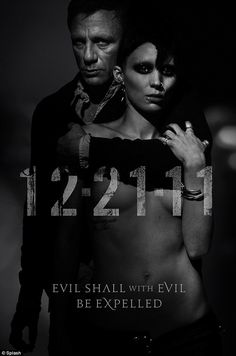 Danial Craig & Rooney Mara...The Girl With the Dragon Tattoo