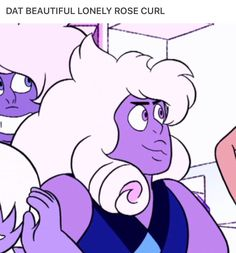Steven Universe, Famethyst<<< J is so fluffy and beautiful!