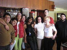 Recuerdos de cuando trabaje como contable en Bonaviatours  con compañeros de izuierda a derecha  Jóse Luis, Lalo, Laura, Brigit, Monica, Alberto