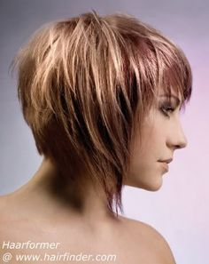 Short front and back with longer sides.