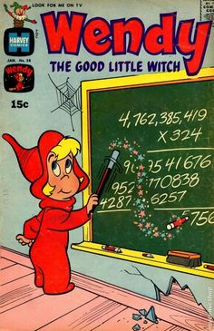 1960 comic book covers - Wendy the Good Little Witch comic books - Vintage Comic Books, Vintage Cartoon, Vintage Comics, 1970s Childhood, Childhood Toys, Childhood Memories, Old Cartoons, Classic Cartoons, Famous Cartoons