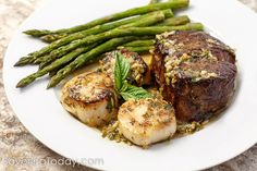 Scampi-Style Steak & Scallops is an easy, 30-Min date night meal that brings the WOW without all the fuss of crowded restaurants.
