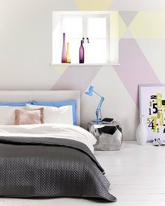 Photography and video in 2 large fully equipped digital studios. Custom room set and makeup facilities. Dream Bedroom, Home Bedroom, Bedrooms, Ikea Hacks, Bedroom Set Designs, Bedroom Ideas, Bedroom Inspiration, Mr Price Home, Pastel Bedroom