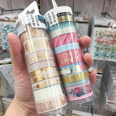 Gorgeous new washi Stationary Store, Stationary Supplies, Cute Stationary, Masking Tape, Washi Tapes, Design Tape, School Suplies, Cute School Supplies, School Items