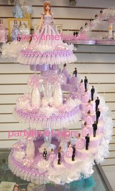 Sweet sixteen centerpiece on Etsy, $99.99