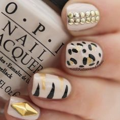 @Sharon Chisholm That Accent - animal instinct mani