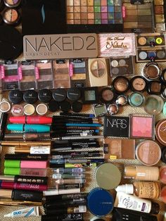 one day, my makeup collection will look like this...