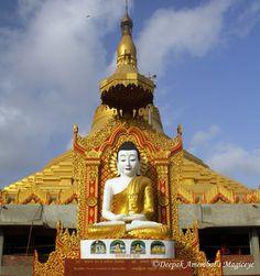 Mumbai daily: Lord Buddha at the Golden Pagoda