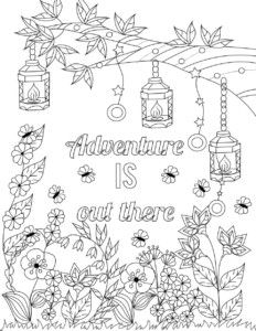 Lilt Kids Free Coloring Page Adventure Is Out There