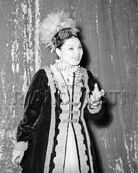 Roza Baglanova a famous Kazakh singer who gave concerts during the WW II.She's born in Kazaly.