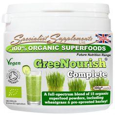 GreeNourish Complete organic powder 300 gram - vitaalexclusief