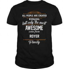 ROYER Name tee Shirts